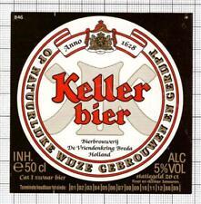 HOLLAND de Vriendenkring BV,Breda KELLER 50cl 88-89 846 beer label C1846 021