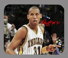 Item#3051 Reggie Miller Indiana Pacers Facsimile Autographed Mouse Pad
