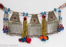 antik Afghan Nomaden orientalische tribaldance bellydance Gürtel kette belt no-M