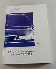 Werkstatthandbuch Saab 9000 Motorsteuerungssystem Motronic 5.2 OBD II MJ ab 1996