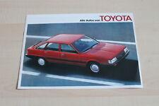 147623) Toyota Starlet Celica Land Cruiser Crown Prospekt 02/1983