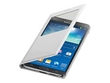 Genuine Original Samsung Galaxy Note 3 Smart S-view S View Flip Case Cover White