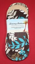 TOMMY BAHAMA LADIES LOW-CUT LINERS 3 PAIRS WOMEN'S SOCKS FITS SHOE SIZE 4-10.5