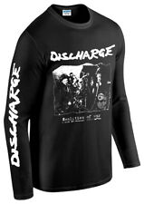 LONG SLEEVE T-SHIRT OFFICIAL DISCHARGE REALITIES OF WAR NEW punk rock dbeat