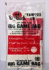 """Big Buck's Famous 88 Big Game Bag 84"""" Open Tube Hunting Bag With Instructions"""