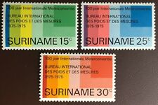 Surinam 1975 Metric Conversion MNH