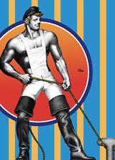 Tom of Finland Postcard Sailor Gay leather Print