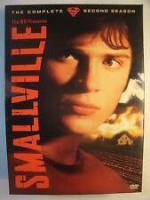 Smallville - The Complete Second Season (DVD, 2006, 6-Disc Set)