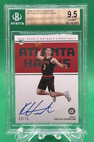 KEVIN HUERTER 2018-19 PANINI ENCASED ON CARD AUTO RC /75 🏦 BGS 9.5 w 10 🏦