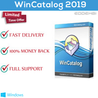 WinCatalog 2019 - Disk and File Catalog Software - Personal Lifetime License