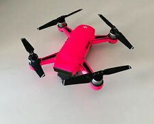 FLUORESCENT PINK WATERPROOF DJI SPARK VINYL SKIN / WRAP / DECAL, UK MADE