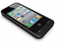 Energi To Go AP1201 iPhone 4 Schutzhülle mit integrierem Akku