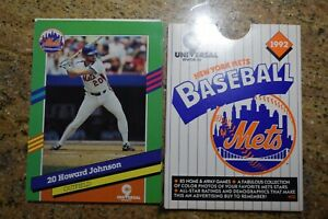1992 Mets Promotional Set 16 Players Mint