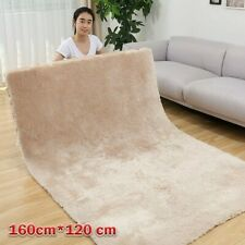 120cm*160cm Large Faux Rabbit Fur Carpet Soft Living Room Bedroom Warm Carpet