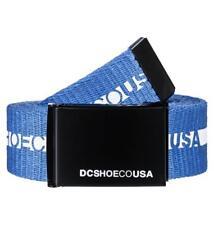 DC Zapatos para hombre correa. nuevo CHINOOK 2 Azul Correas Jeans Pantalones Correa 8S 144 BLVO