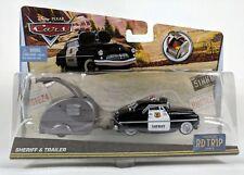 CARS - SHERIFF & TRAILER Road Trip - Mattel Disney Pixar