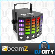 Beamz Gobo Derby LED DJ FX Light Multi-Effect Party Light w/ Strobe & UV