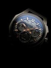 NEW IN BOX Bulova CURV Chronograph Black and Titanium Watch 98A162 Mens 44mm