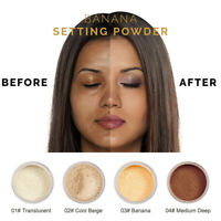PHOERA Powder Loose Face Powder Translucent Smooth Setting Foundation Makeup