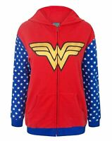 Wonder Woman Logo Women's Zip-Up Hoodie