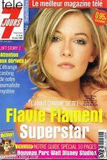 Télé 7 Jours N°2181 Flavie Flament,Parc Walt Disney Studios Paris