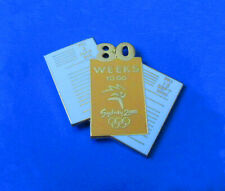 80 Weeks to Go Pin - Weeks to go Pin Series - Sydney Summer Olympics