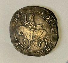 More details for charles i hammered silver halfcrown - mm bell - spink 2773 - 1634-35