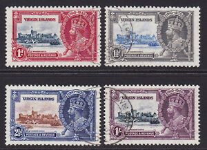 Virgin Islands. 1935. SG 103-106. Very fine used.