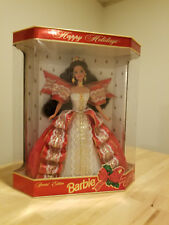 1997 Happy Holidays Special Edition 10th in series Anniversary Holiday Barbie