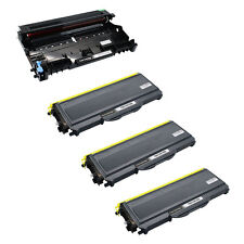 1PK DR360 DR-360 Drum + 3PK TN360 TN-360 Toner Cartridge for Brother MFC-7440N