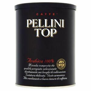 Pellini Top Arabica 100% Ground Coffee