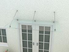 Glasdach 2 m breit - 1 B (2. Wahl) Vordach Hauseingang