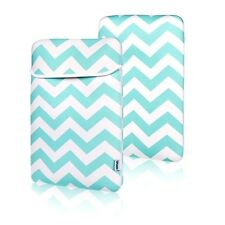 "Chevron HOT BLUE Sleeve Bag  for All 13"" Laptop Macbook / Air / Pro / Chromebook"