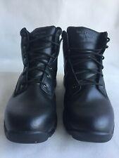 Skechers Morson Black Men's Hiking Boot, Waterproof Lace Up Shoes Size 11.5