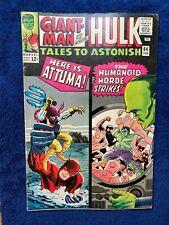 Tales to Astonish #64 Hulk1st app and origin Leader Giant Man Wasp vs Attuma1965