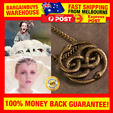 The Never Ending Story Style Auryn Pendant Necklace Retro 80s Movie Prop Jewlery