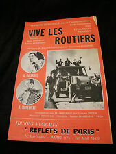 Partition Vive les routiers Larcange Boisserie Marie Claire Segurel Music Sheet