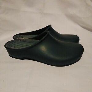 Sloggers Women's Size US 9 EUR 40 Garden Shoes Clogs Mules Green