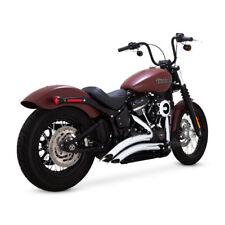 "Vance & Hines 2 1/2"" Big Radius Chrom, für Harley-Davidson Streetbob, Slim 18-19"