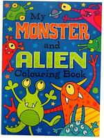 My Monster and Alien Colouring Book