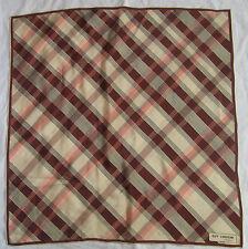 Foulard  vintage GUY LAROCHE - Paris 100% soie  80cm x 80cm  vintage Scarf //