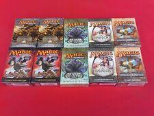 Lotto 10 Mazzi da torneo Magic Nuovi Italiano Sigillati MTG vedi foto x elenco
