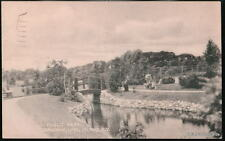 BALDWIN LONG ISLAND LI NY Public Park Bridge Vtg B&W PC