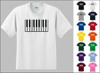 Piano Keys Instraments Classical Music Funny Electric Piano T-shirt