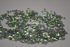 1000 Hotfix Strasssteine, *Peridot* / *Grün*, SS10~2,8-3mm, Super Qualität