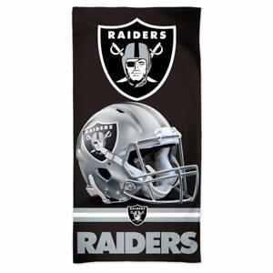 NFL Bath Towel Las Vegas Raiders Spectra Beach Towel 59 1/8x29 1/2in
