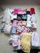Baby Bekleidungs Paket 62 68 Mädchen ca. 100tlg.