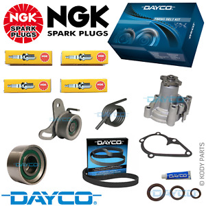 TIMING BELT KIT, WATER PUMP, NGK PLUGS - for Hyundai Getz 1.4L 1.5L 1.6L TB
