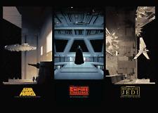 Star Wars Original Trilogy A3 Mondo Poster ⭐VERY RARE⭐️