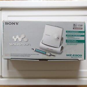 EMPTY BOX Sony MZ-E909 MiniDisc Player Walkman Portable Personal MD